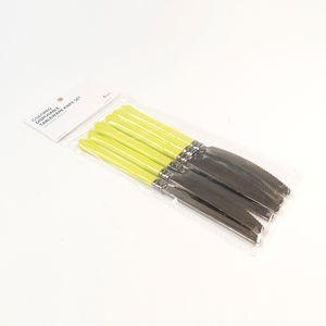 Paquete de cuchillos desechables, Multicolor, Mediano