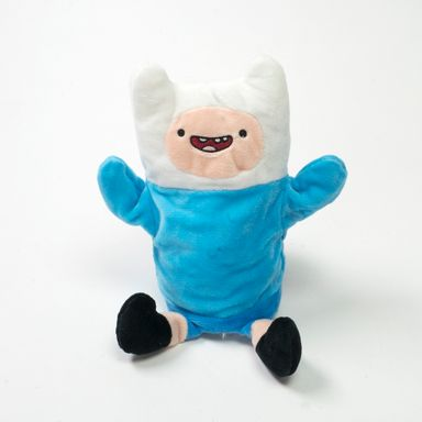 Marioneta Adventure Time Finn Azul