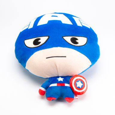 Peluche Marvel Capitán América Cabezón