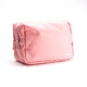 Cosmetiquera Minigo De Doble Compartimento Rosa