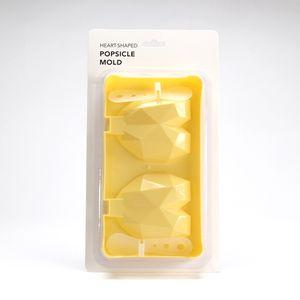 Molde de paletas amarillo