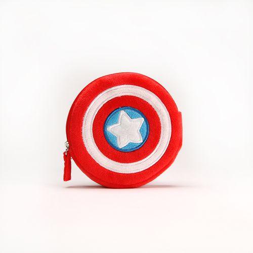 Monedero de Capitán América, Multicolor, Chico