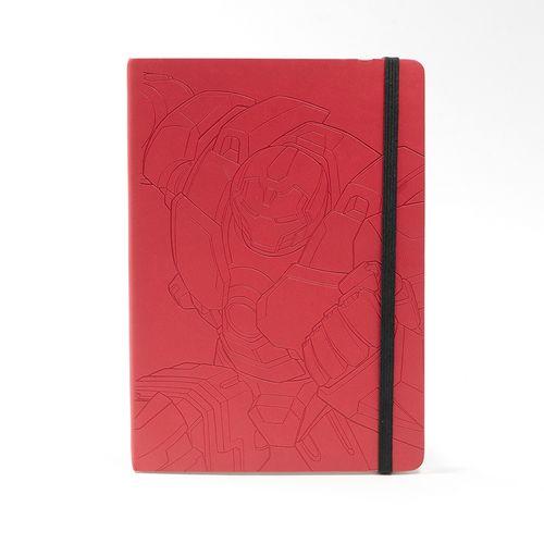 Libreta de notas, Iron Man, Multicolor, Mediana
