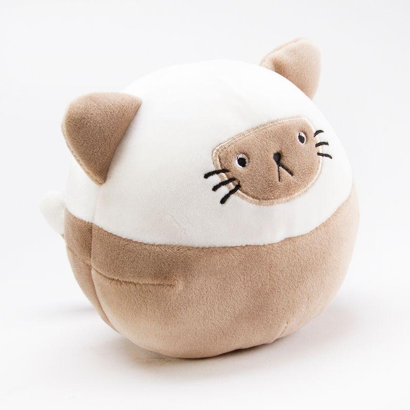Peluche-en-forma-de-gato-Multicolor-Chico-1-2531