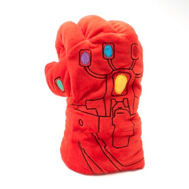 Guante de peluche de Iron Man, Multicolor
