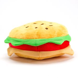 Peluche en forma de hamburguesa, Multicolor, Chico