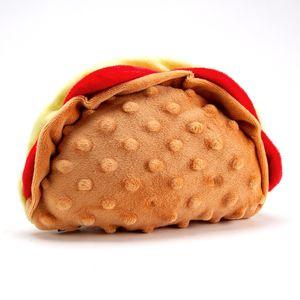 Peluche en forma de taco, Multicolor, Mediano