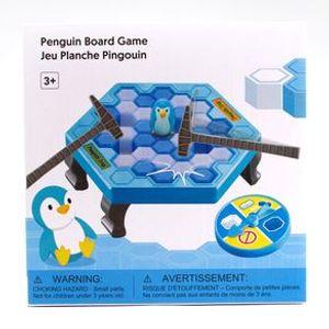 Juego De Mesa Infantil Pingüino Azul