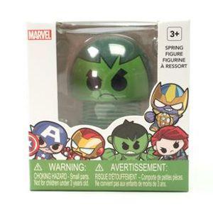 Juguete de resorte, Hulk, Multicolor, Chica