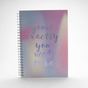 Cuaderno You're Exactly You Need To Be-Mythical Series