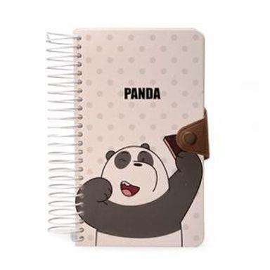 Cuaderno En Espiral Con Bloc De Notas We Bare Bears We Bare Bears Multicolor 180 Hojas