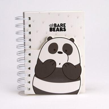 Cuaderno En Espiral Con Bloc De Notas We Bare Bears We Bare Bears Multicolor 170 Hojas