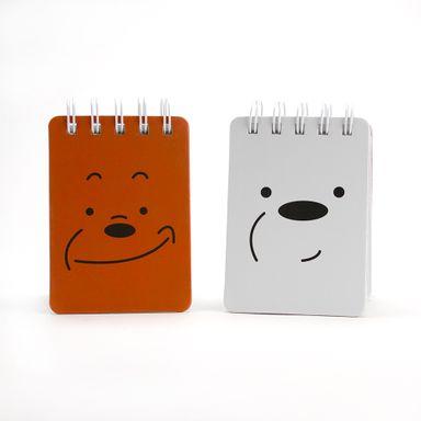 Cuaderno En Espiral We Bare Bears Multicolor 2 Piezas