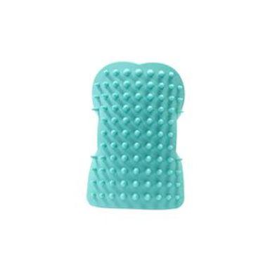 Cepillo Para Mascotas Ergonómico Silicón Azul