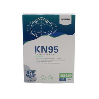 Cubrebocas KN95 10 Piezas