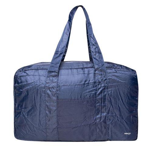 Bolsa de Viaje Plegable Boston Azul Marino - Minigo