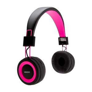 Audífonos de diadema inalámbricos, Rosa