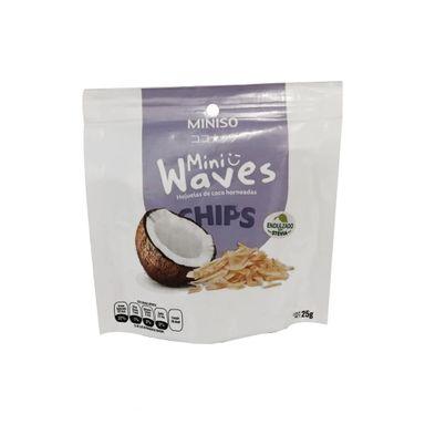 Snack Mini Waves Chips Hojuelas De Coco 25 g