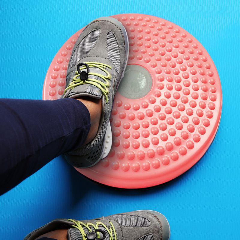 Twister-entrenador-Rosa-Disco-giratorio-para-ejercicio-Rosa-Grande-3-113