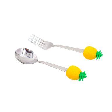 Set Cuchara Y Tenedor Fruit Series 2 Piezas
