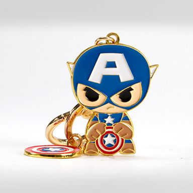 Llavero Marvel Capitán América Metal