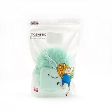 Esponja Para Baño Adventure Time Varios Personajes Verde