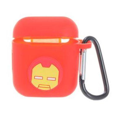 Estuche De Silicón Marvel Iron Man Para Airpods