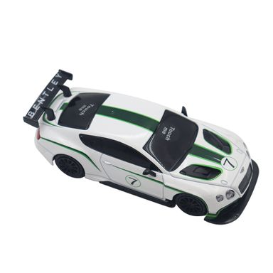 Carro De Juguete Modelo Bentley Continental Gt Blanco