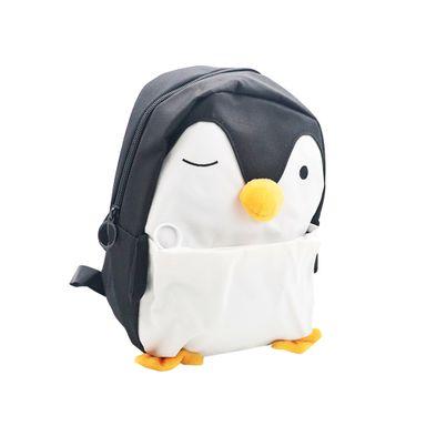 Mochila Escolar Con Detalles De Pingüino