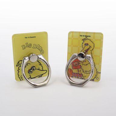 Soporte Para Celular Sesame Street Abelardo Tipo Anillo Amarillo 2 Piezas