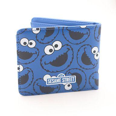 Cartera Sesame Street Come Galletas Azul