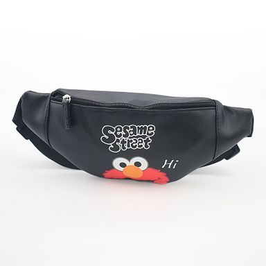 Cangurera Sesame Street Elmo Negro