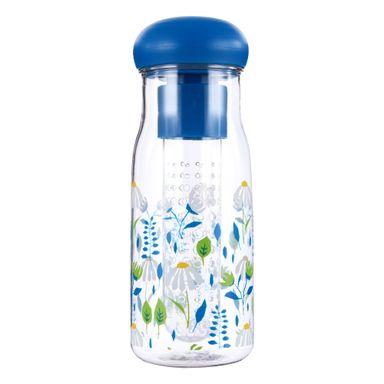 Cilindro Flower Series Con Infusor De Plástico 680 ml