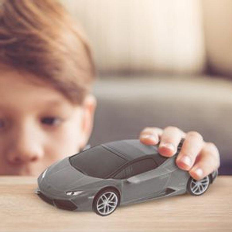Veh-culo-A-Escala-Modelo-Lamborghini-Hurac-n-Gris-20x9-cm-3-903