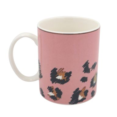 Taza Tropical Rainforest Series Estampado De Leopardo
