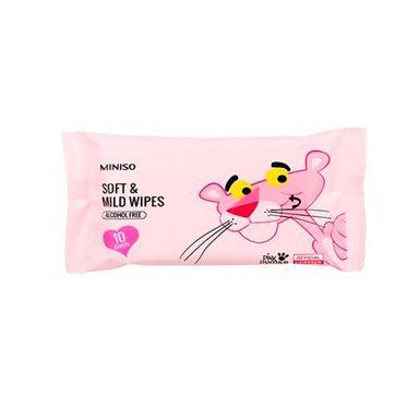 Paquete De Toallitas Húmedas Pink Panther 6 Piezas