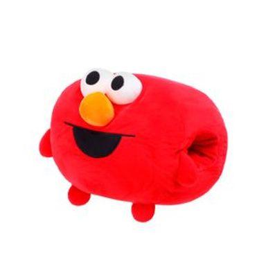 Cojín Sesame Street Elmo Con Calentador De Manos