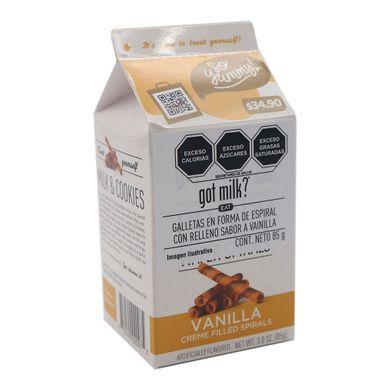 Galletas Got Milk En Forma De Espiral Con Relleno 85 g Sabor Vainilla