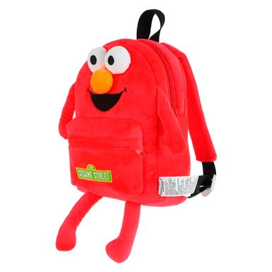 Mochila Sesame Street Elmo De Felpa