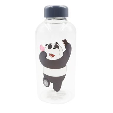 Cilindro We Bare Bears Panda, De Vidrio 600 ml