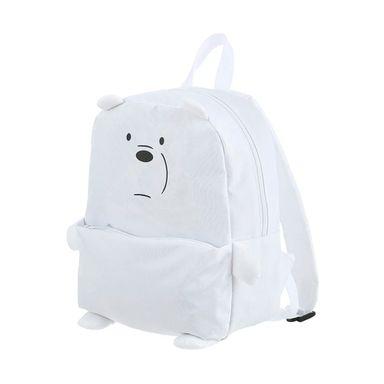 Mochila We Bare Bears Polar Con Bolsa Frontal