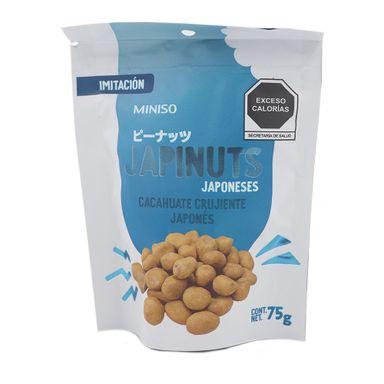 Snack Japinuts Cacahuate Japonés Crujiente, 75 g