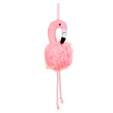 Esponja De Baño Forma De Flamingo, Rosa