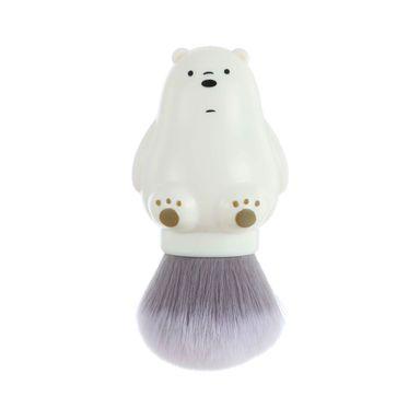Brocha De Maquillaje We Bare Bears Polar Kabuki Redonda