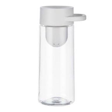 Cilindro COCO Con Infusor, De Tritán Blanco 400 ml