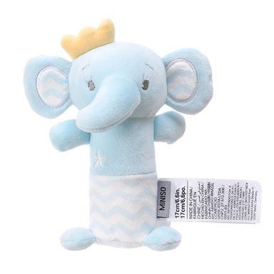 Sonaja Para Bebé Forma De Elefante, De Felpa