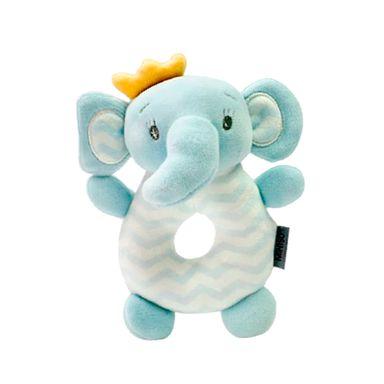 Sonaja Para Bebé Redonda Forma De Elefante, De Felpa