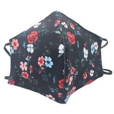 Cubrebocas De Tela Reusable Y Lavable Diseño De Flores