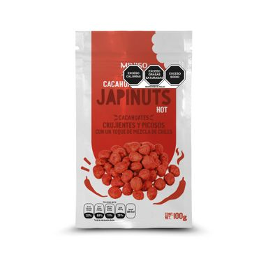 Cacahuates Crujuentes Y Enchilados  Japinuts 100 g