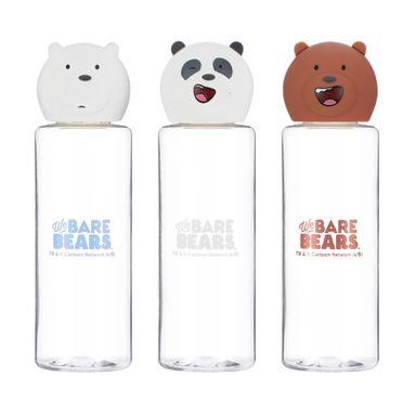 Set De Botellas We Bare Bears Para Viaje, 3 Piezas